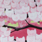 Cat Blossoms (detail)